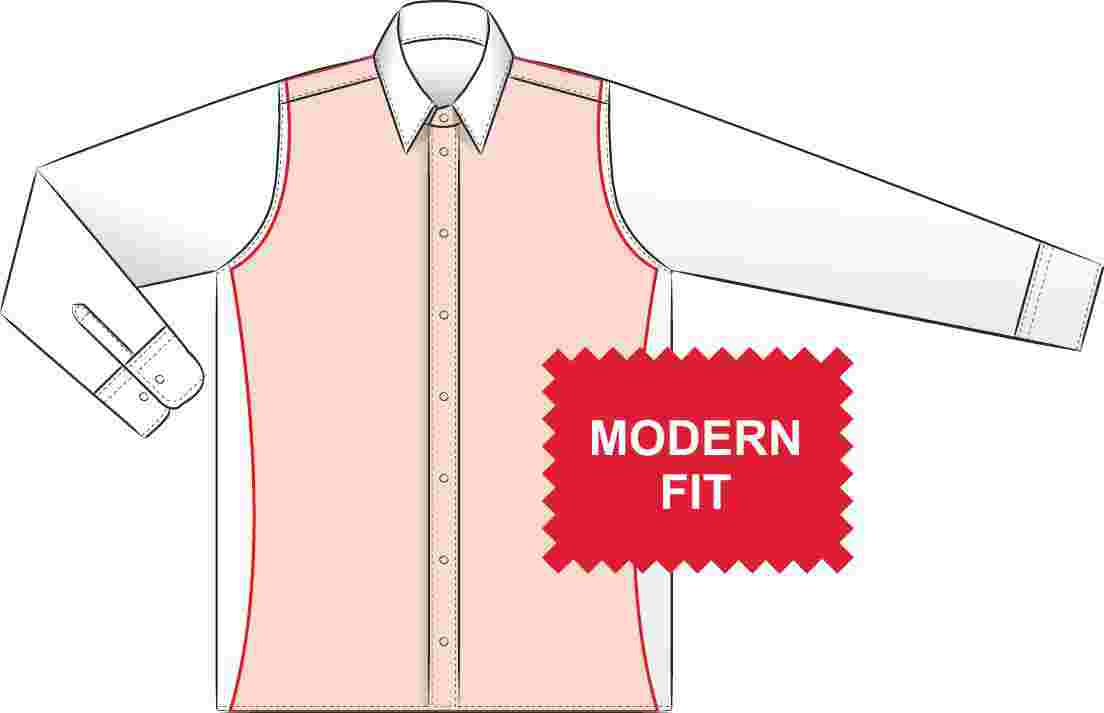 Pánské slim košile eterna s extra prodlouženým rukávem 72 cm 1971c4aaa7