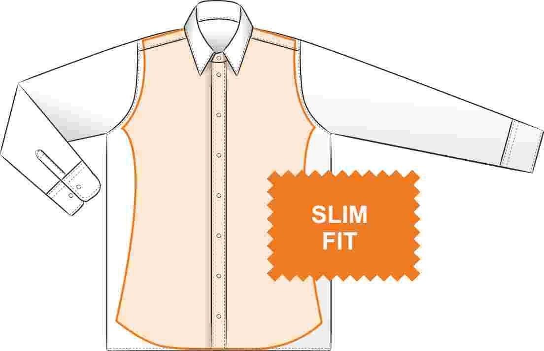 Pánské košile slim fit (silně vyštíhlené) 735604993a