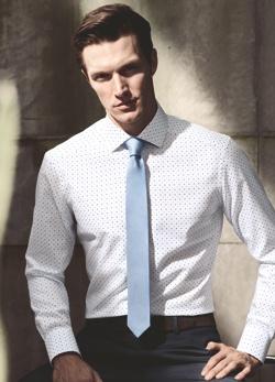 Obrázek pánské košile s kravatou