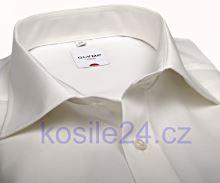 Olymp Luxor Comfort Fit - champagne košeľa - krátky rukáv