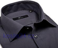 Venti Slim Fit – tmavě šedá košile