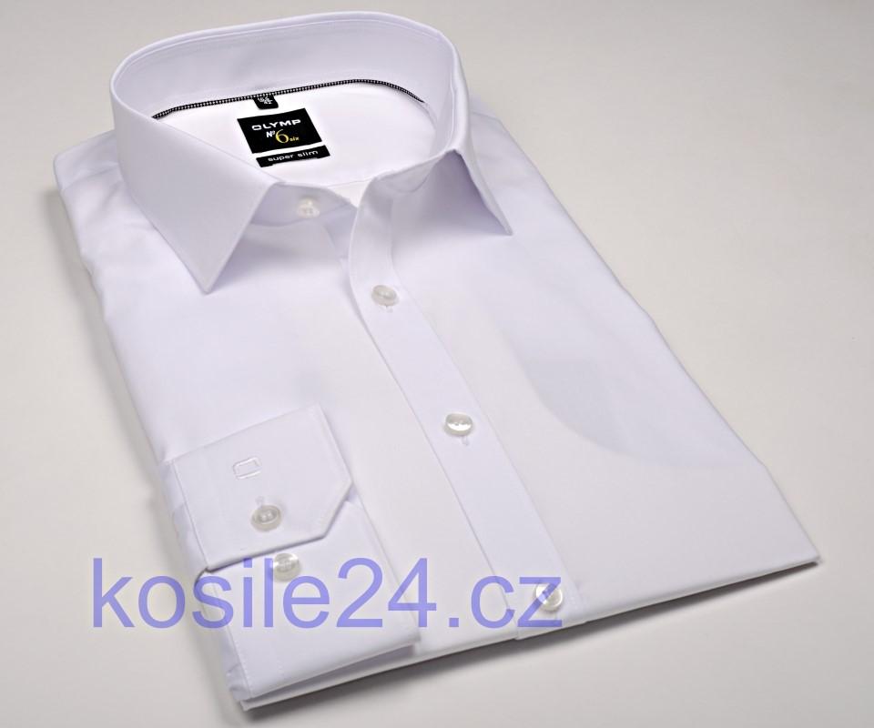 c1192eac5c93 Olymp Super Slim – biela košeľa