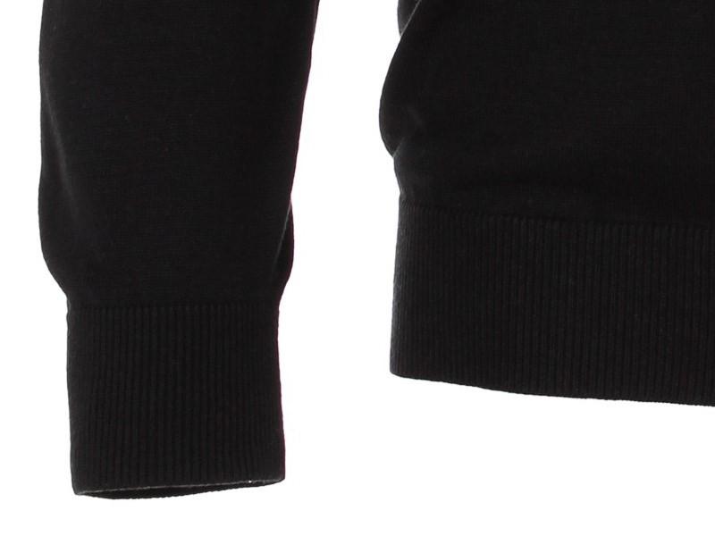 7d0ede7d8a55 Bavlnený pulóver Casa Moda – čierny
