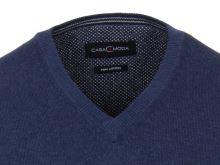 Bavlnený pulóver Casa Moda – modrý