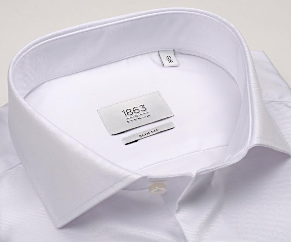 de864db7c49d Eterna 1863 Slim Fit Twill - luxusná biela košeľa