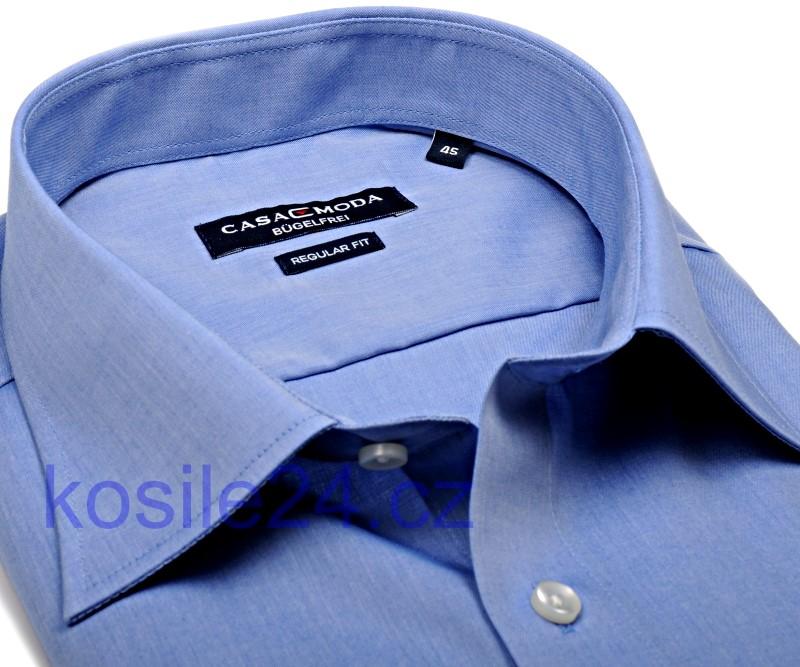 40cf2014102f Casa Moda Comfort Fit Chambray – stredne modrá - extra predĺžený rukáv