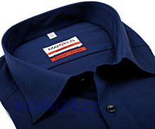 Marvelis Modern Fit Chambray – tmavomodrá košeľa