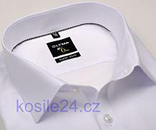 Olymp Super Slim – biela košeľa - predĺžený rukáv