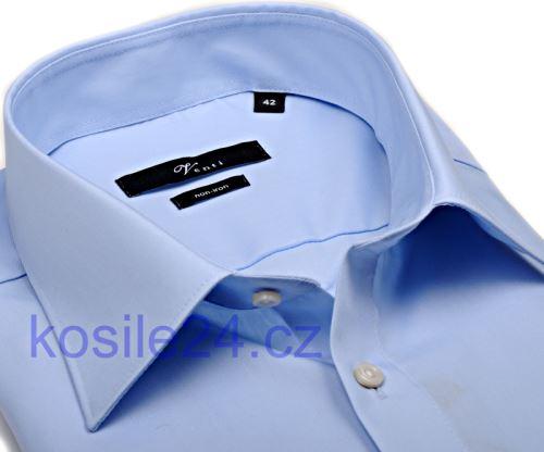 Venti Modern Fit Chambray – světle modrá košile - extra prodloužený rukáv