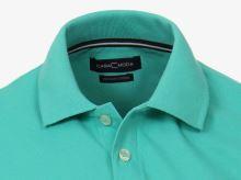Polo tričko Casa Moda – zelenkavé tričko s límečkem