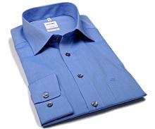 Olymp Luxor Comfort Fit Chambray - modrá košeľa