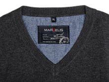 Bavlnený pulóver Marvelis – antracitový