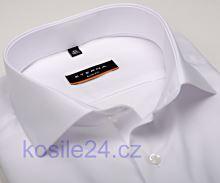 Eterna Slim Fit - bílá košile - extra prodloužený rukáv