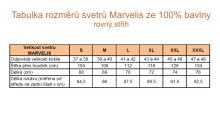 6065e5b44 Tmavomodrý pulóver Marvelis 100% bavlna