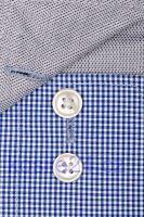 Olymp Luxor Modern Fit – košile s modrým minikárem s vnitřním límcem a manžetou