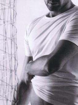 Biele jemné bavlnené tričko eterna s krátkym rukávom – kulatý výstrih
