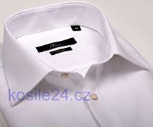 Venti Slim Fit – biela košeľa - predĺžený rukáv