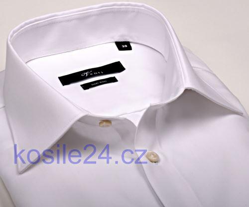 Venti Slim Fit – bílá košile - prodloužený rukáv