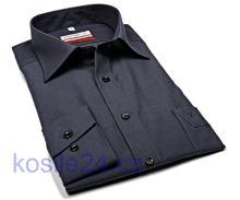 Marvelis Comfort Fit Chambray – antracitová košeľa