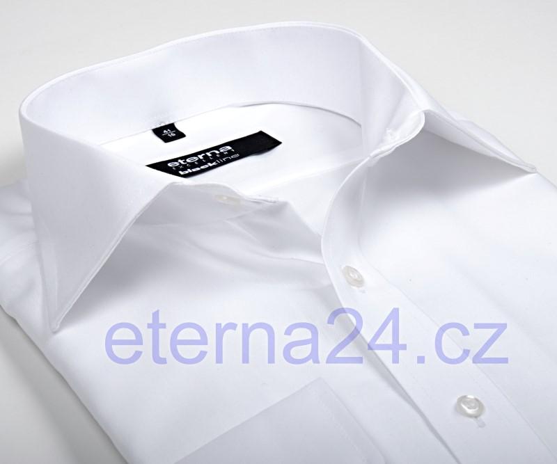 Eterna Comfort Fit Uni Popeline - bílá - krátký rukáv c57a9617be