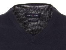 Bavlnený pulóver Casa Moda – tmavomodrý