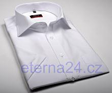 Eterna Modern Fit - biela košeľa - krátky rukáv