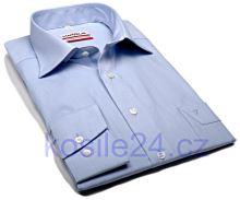 Marvelis Modern Fit Chambray – světle modrá košile