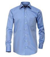 Casa Moda Comfort Fit Chambray – stredne modrá - extra predĺžený rukáv