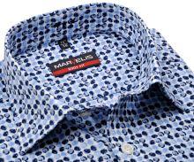 Marvelis Body Fit – designová košile s modrými kolečky