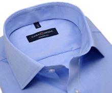 Casa Moda Modern Fit Chambray Stretch – světle modrá košile - prodloužený rukáv