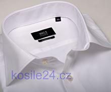 014b375e4f61 Luxusná pánska biela slim košeľa Eterna s vnútorným golierom