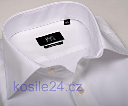 Eterna 1863 Modern Fit Twill - luxusná biela košeľa