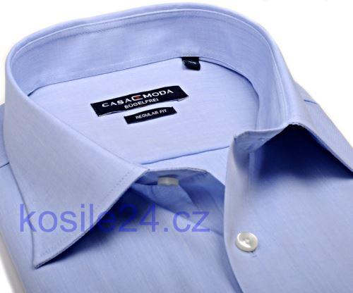 Casa Moda Comfort Fit Chambray – světle modrá - krátký rukáv