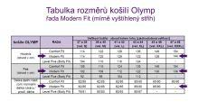 Olymp Modern Fit Rybia kosť – tmavomodrá košeľa s krúžkami, vnútorným golierom a manžetou