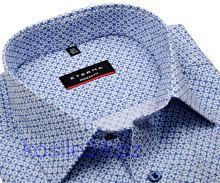 Eterna Modern Fit – košeľa s modrým tľačeným vzorom