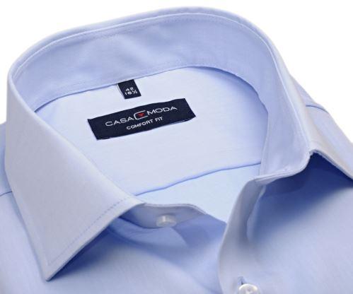 Casa Moda Comfort Fit Twill – luxusní světle modrá košile - extra prodloužený rukáv