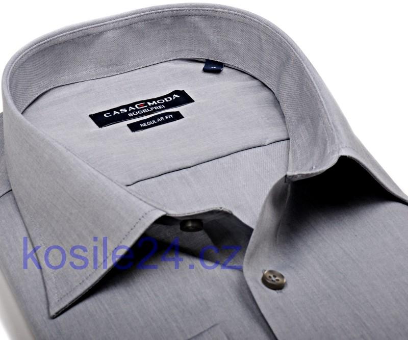 8bba2b1fddd Casa Moda Comfort Fit Chambray – šedá - krátký rukáv
