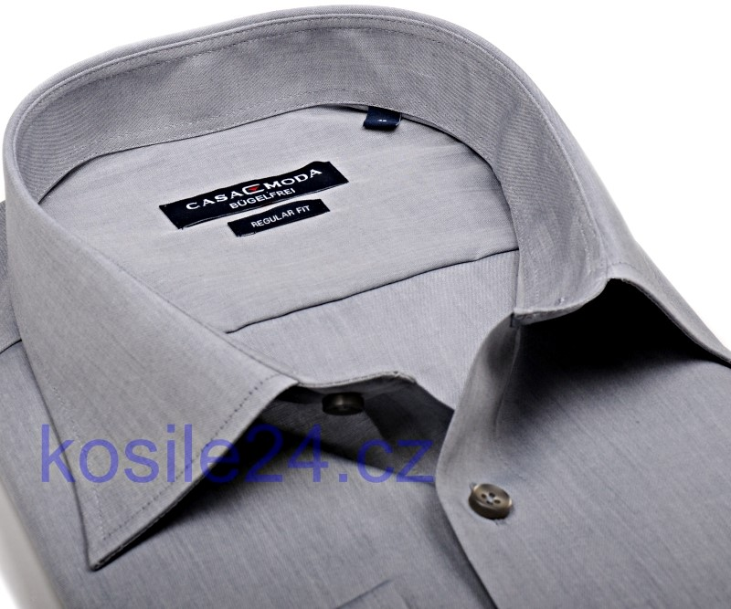 39296a31815b Casa Moda Comfort Fit Chambray – sivá košeľa