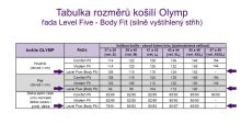 Olymp Level Five – champagne košeľa