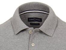 Polo tričko Casa Moda – sivé tričko s golierkom