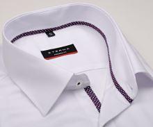 Eterna Modern Fit Fine Oxford – biela košeľa s jemnou štruktúrou a vnútornou légou