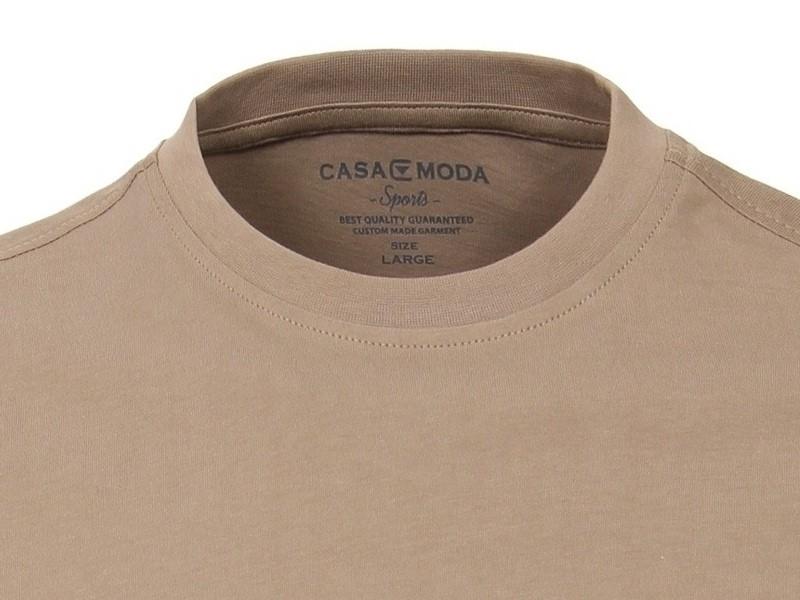 b2b83d4f3453 Béžové pánské tričko Casa Moda s krátkým rukávem