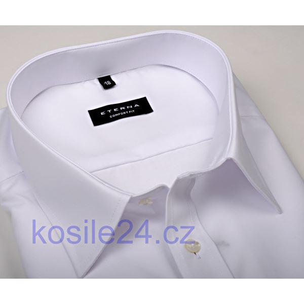 1c41ee416f0f Eterna Comfort Fit - biela gala košeľa s dvojitou manzetou