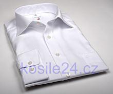 Olymp Luxor Comfort Fit Uni Popeline - bílá košile - prodloužený rukáv