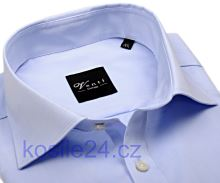 Venti Modern Fit Twill – svetlomodrá košeľa - extra predĺžený rukáv