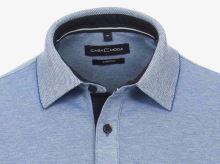 Polo tričko Casa Moda – svetlomodré tričko s golierkom