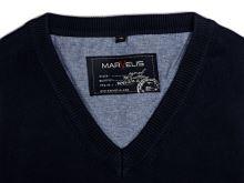 Bavlnený pulóver Marvelis – tmavomodrý