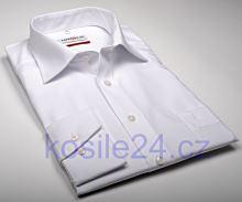 Marvelis Comfort Fit Uni - biela košeľa – predĺžený rukáv