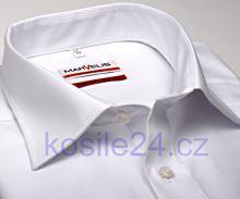 Marvelis Modern Fit Uni - biela košeľa - predĺžený rukáv