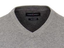 Bavlnený pulóver Casa Moda – sivý